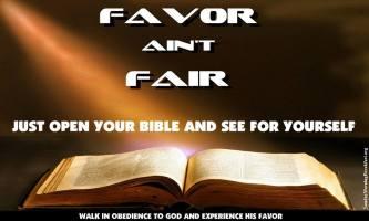 Favor Aint Fair
